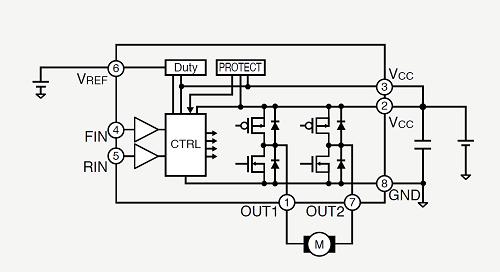 VREF制御 回路図